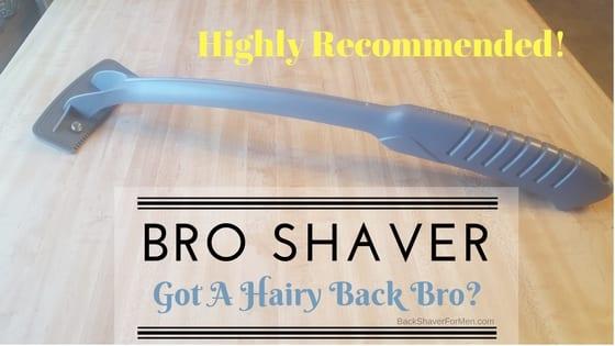 bro shaver grey