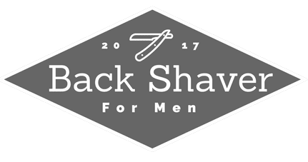 transparent logo for back shaver for men