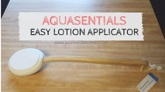aquasentials lotion applicator