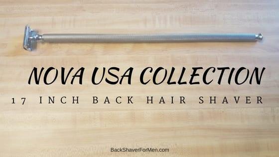 nova usa metal back shaver