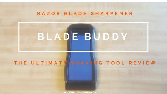 black and blue blade buddy