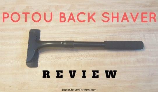 potou back shaver black
