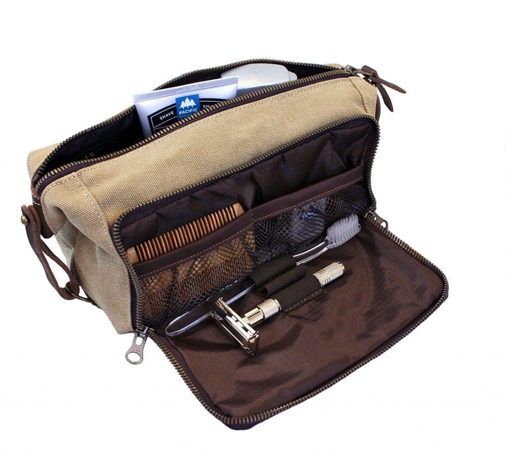 Habitoux Dopp Kit Men S Travel Toiletry Bag Canvas