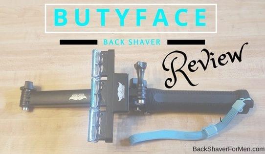 butyface back shaver black