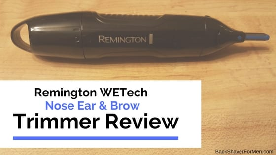 remington wetech trimmer black