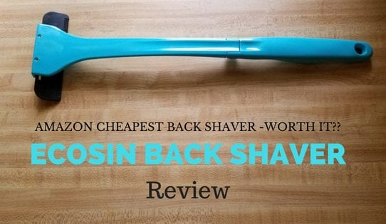 ecosin back shaver review