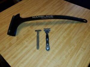 manblade size comparison