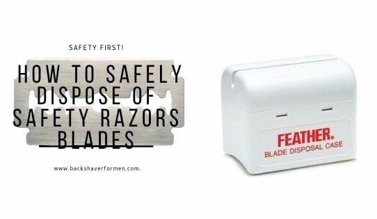 safety razor disposal box