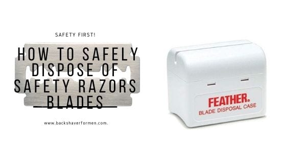 safety razor disposal box
