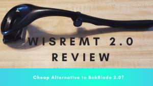 black wisremt 2.0 back shaver