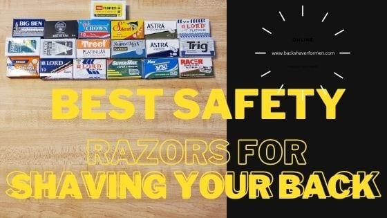 safety razors in little packs