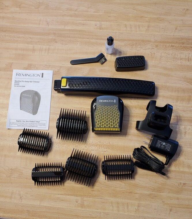 parts include with remington shortcut pro