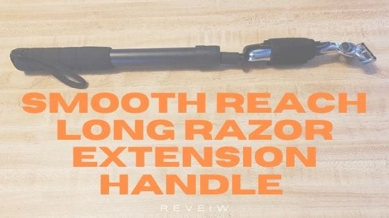 picture of smooth reach long razor extendable handle