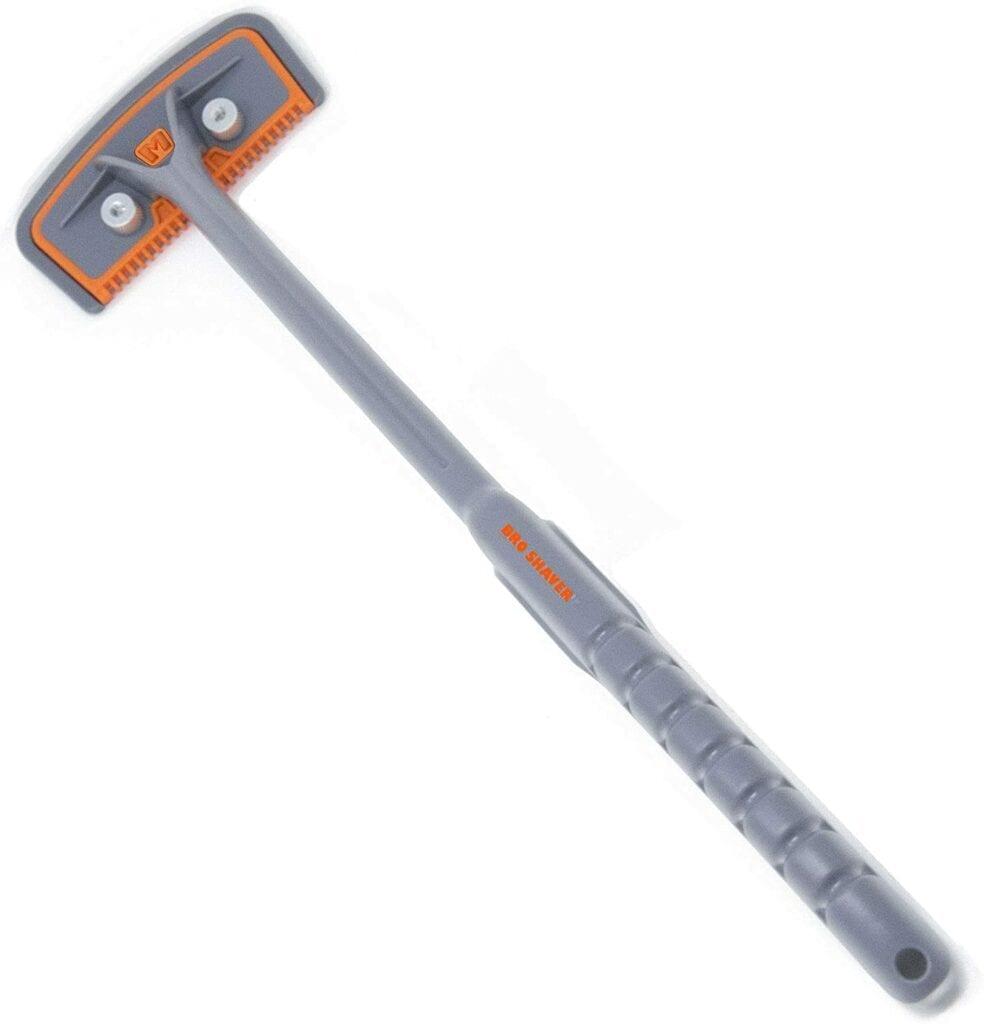 grey and orange bro shaver 2.2