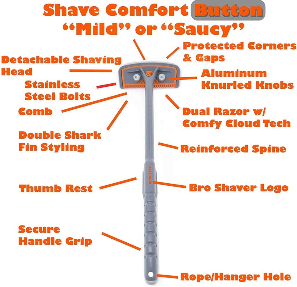 features of bro shaver