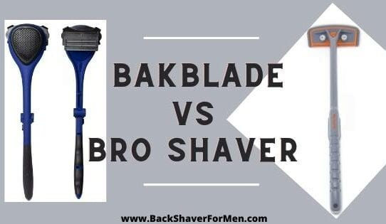 bakblade and bro shaver review