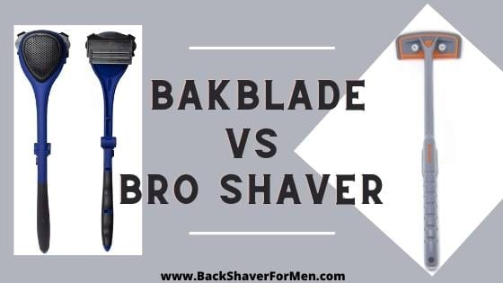 bakblade and bro shaver review