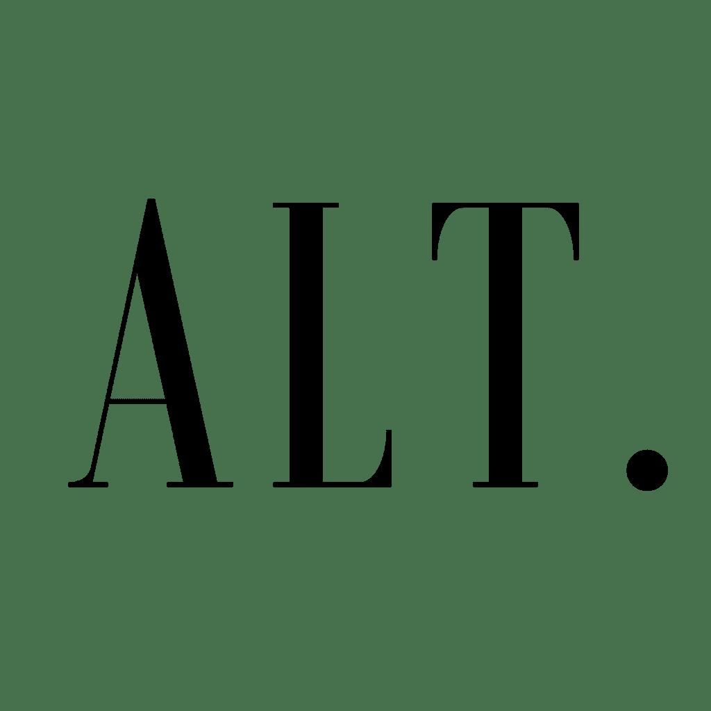 black alt. fragrances logo