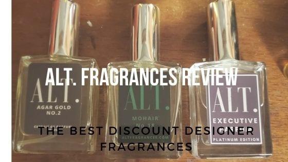 bottles of alt. fragrances