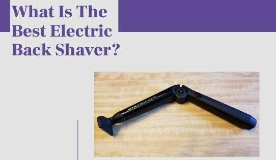 electric back shaver