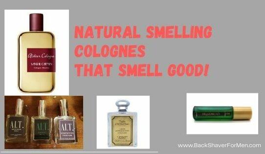 natural smelling colognes